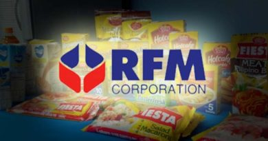 RFM Declares Cash Dividends of PhP366M